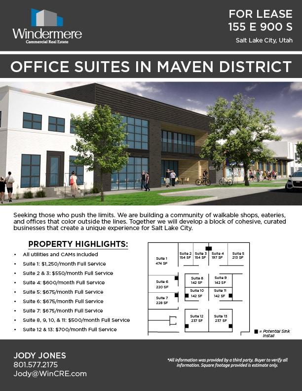 Maven District Suites Flyer